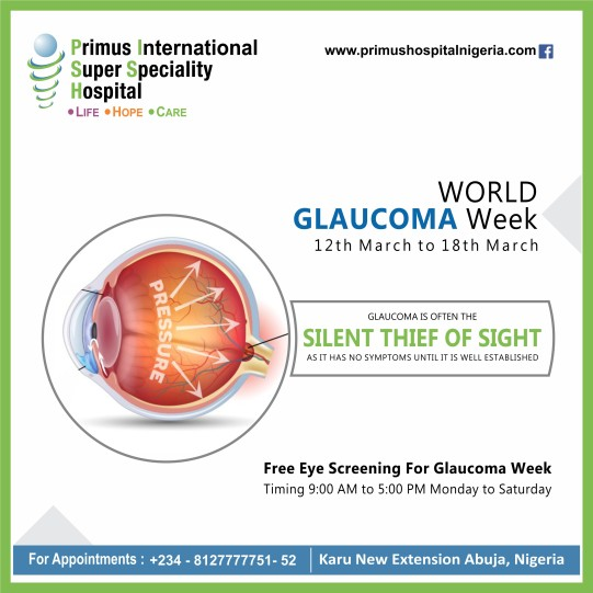 gulocoma week-Primus Hospital